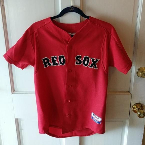 new concept de5c5 b49a5 Authentic Boston Red Sox Jersey